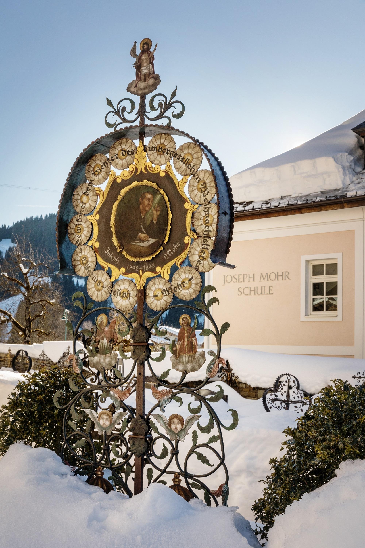 Joseph Mohr Grab Wagrain Salzburger Land Tourismus