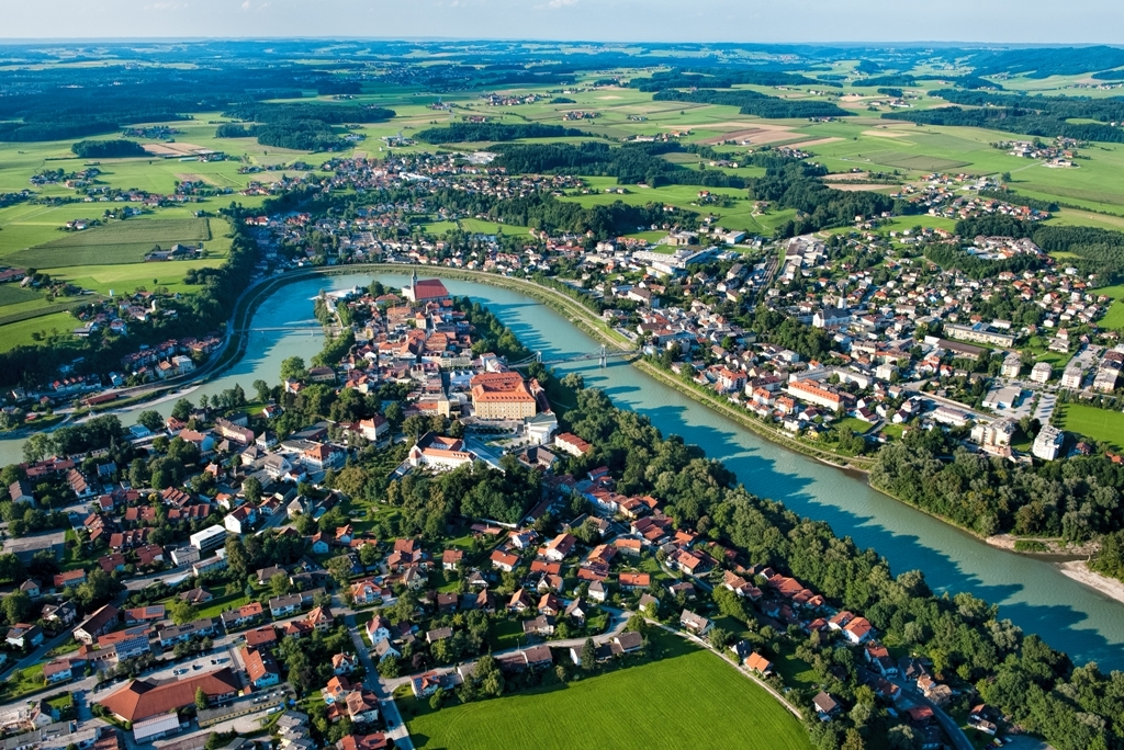 Luftbild Salzachschleife WE Bc TVB Oberndorf