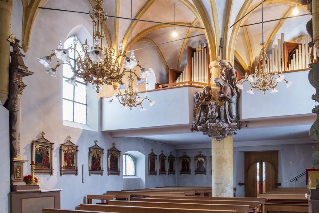 Pfarrkirche Wagrain Orgelkrippec Stille Nacht Gesellschaft Kathrin Gollackner