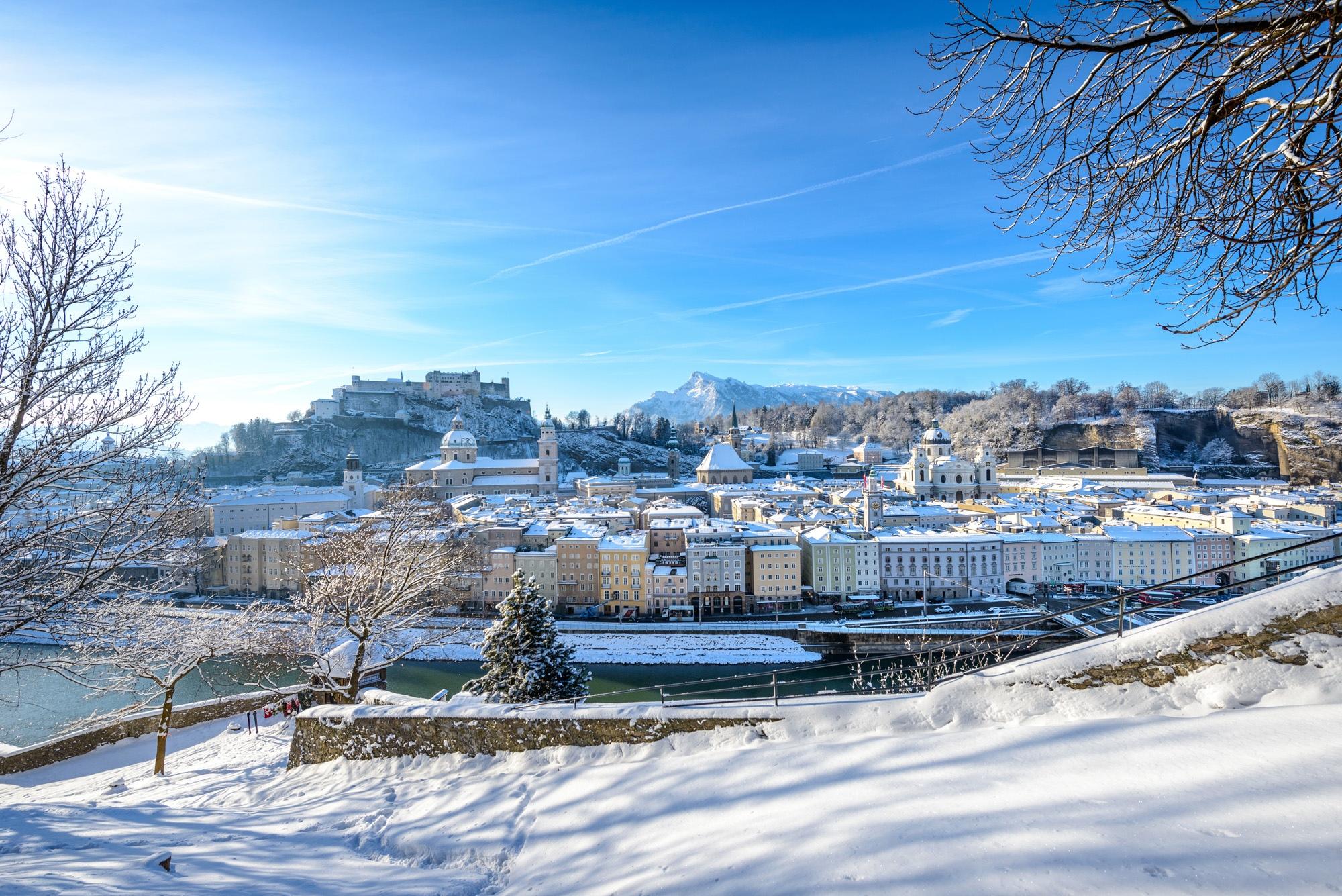 Stadtansicht Salzburg Tourismus Salzburg