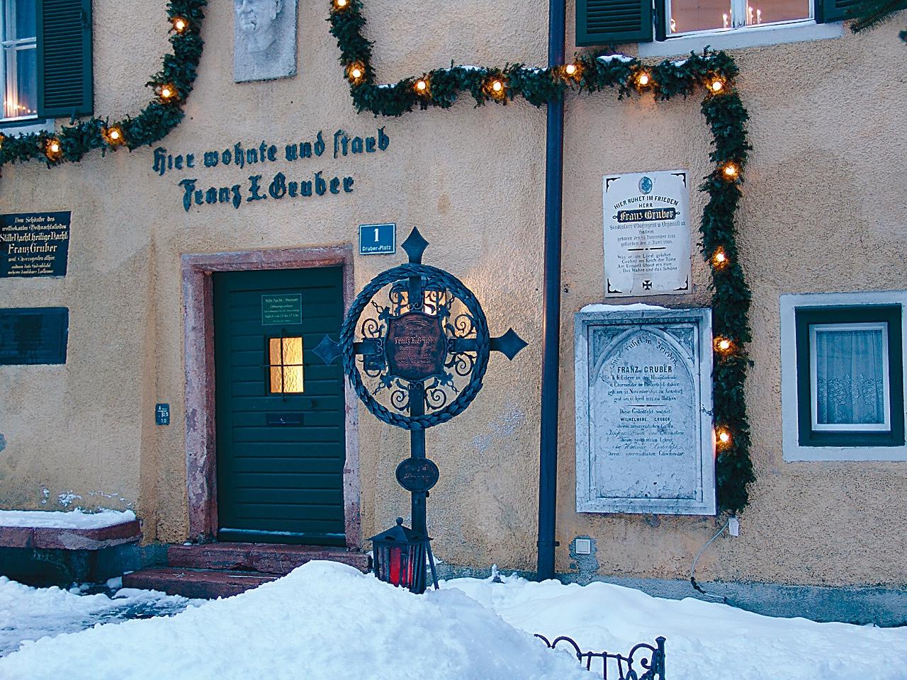 Stille Nacht Museum Hallein Original