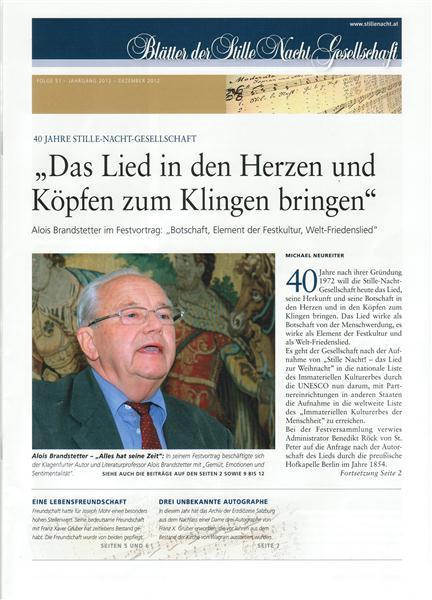Blaetter Titelseite2012