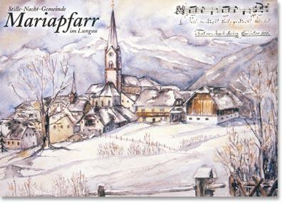 Postkarte Mariapfarr im Lungau